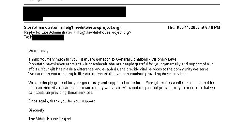 Gmail - Standard Donation Thank You